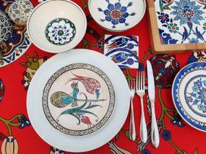 Turkish ceramic tableware