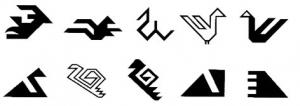 Kilim bird motifs - symbols of good luck